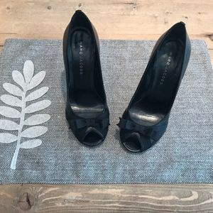 Marc Jacobs peep toe heels